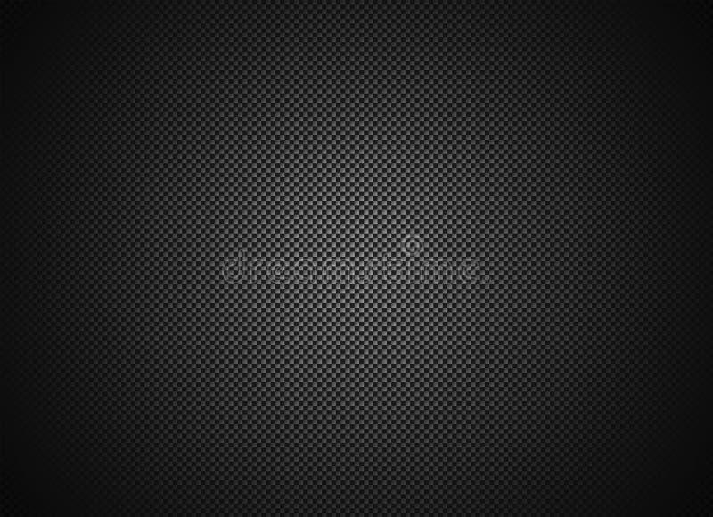 De textuurachtergrond van de koolstofvezel stock foto's