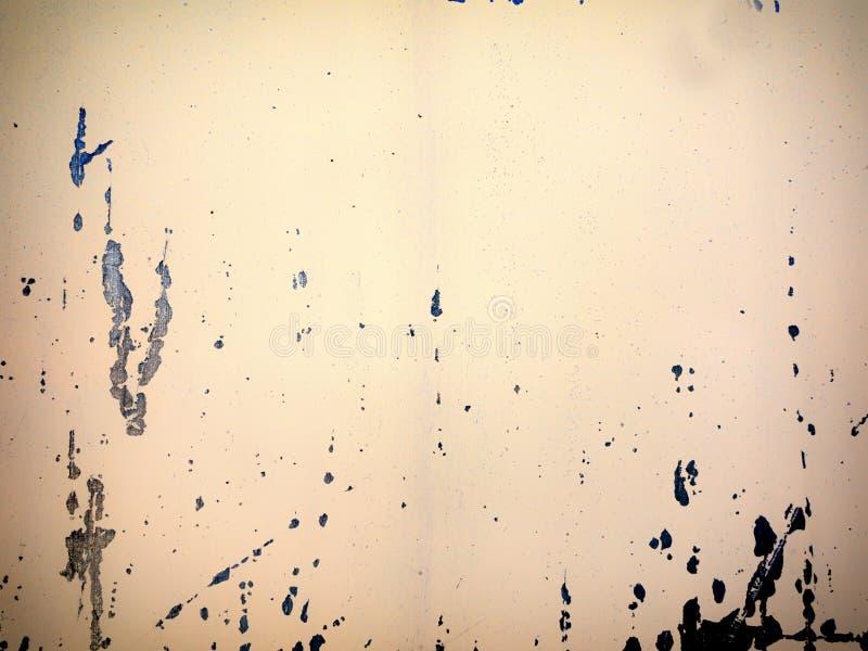 De textuurachtergrond van het Grunge bruine metaal stock afbeelding