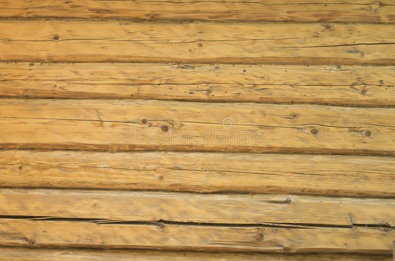 De textuurachtergrond van logboek houten bllockhouse royalty-vrije stock foto