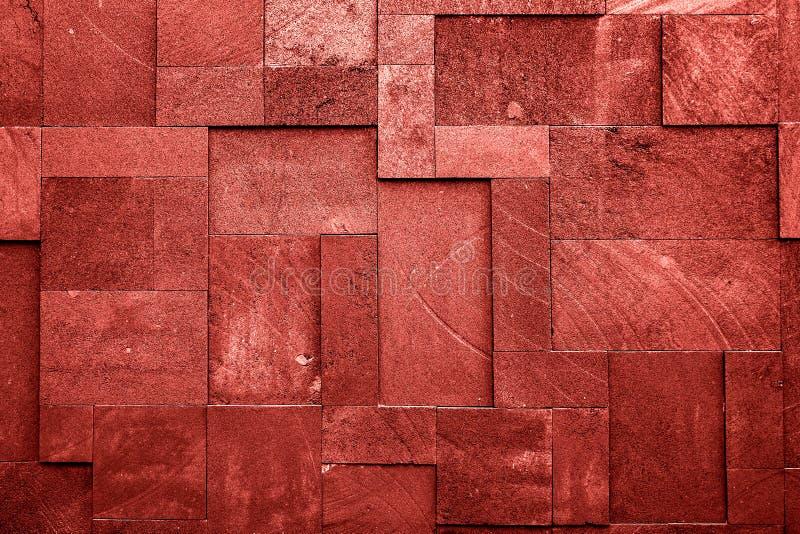 De textuurachtergrond van de steenmuur met verschillende blokken royalty-vrije stock fotografie