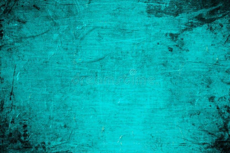 De textuursamenvatting van de achtergrondneon ruïneerde de blauwe muur grunge gekraste textuur royalty-vrije stock foto's