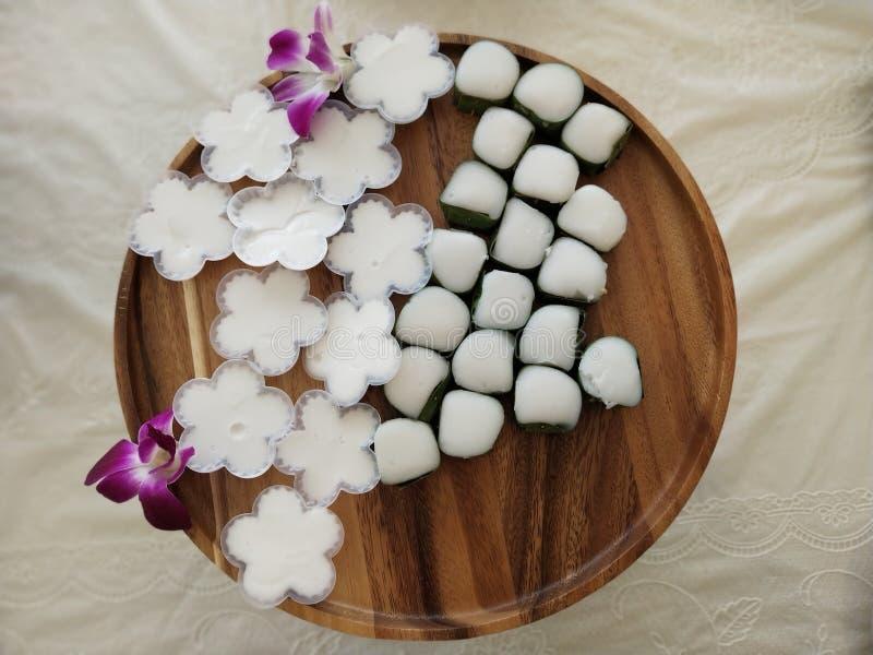 De Thaise desserts zijn uniek in Thaise cultuur 12 royalty-vrije stock foto's