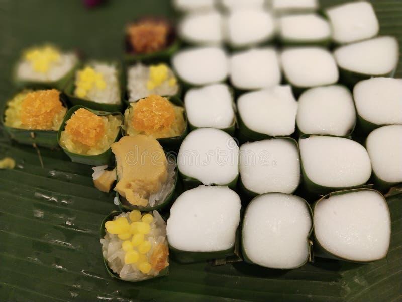 De Thaise desserts zijn uniek in Thaise cultuur 20 royalty-vrije stock foto's