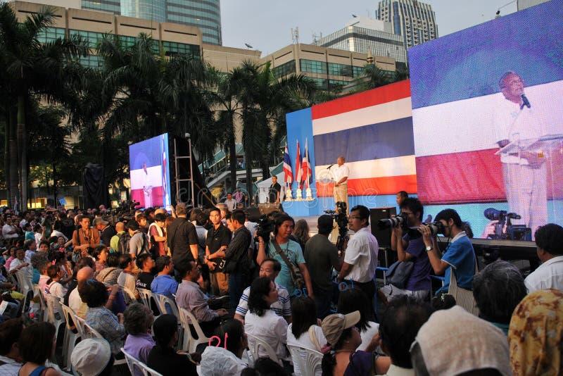 De Thaise Eerste minister Suthep Thaugsuban van de Afgevaardigde royalty-vrije stock foto's