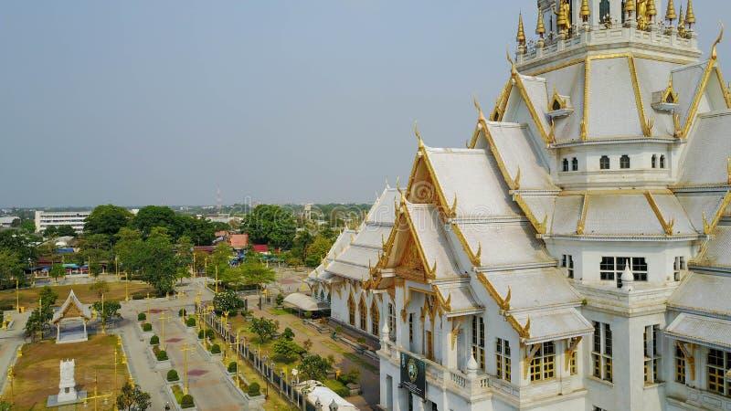De Thaise Kerk van de Tempel stock fotografie