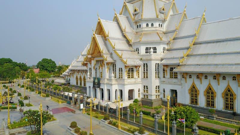 De Thaise Kerk van de Tempel stock foto's
