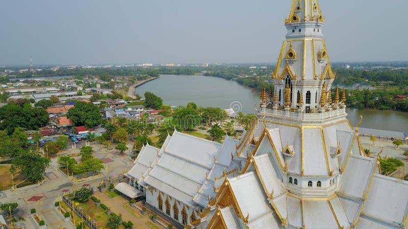 De Thaise Kerk van de Tempel royalty-vrije stock foto