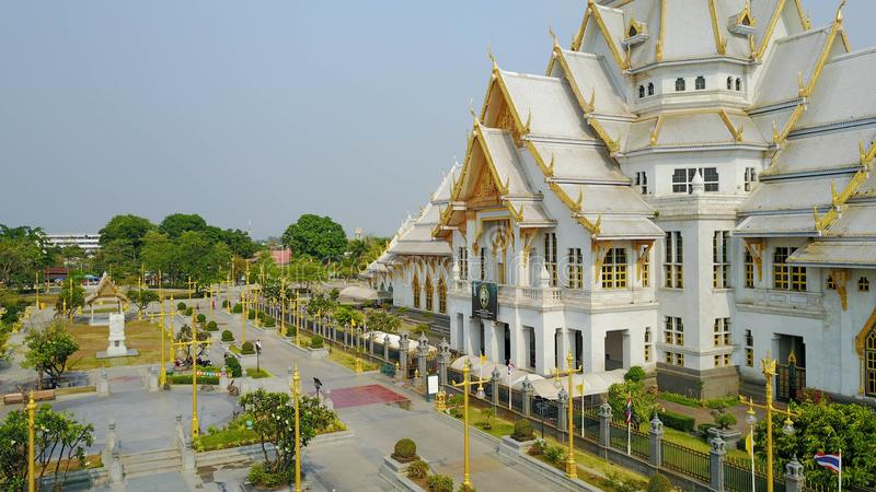 De Thaise Kerk van de Tempel royalty-vrije stock foto's