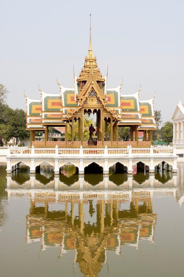 De Thaise kunsten bouw stock afbeeldingen