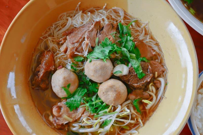 Download De Thaise Noedel Van Het Stijlrundvlees Stock Afbeelding - Afbeelding bestaande uit gastronomisch, chinees: 39116791