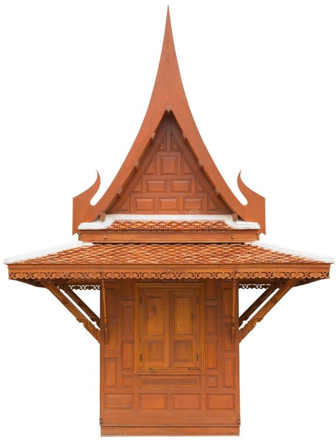 De Thaise Stijl van het huis royalty-vrije stock afbeelding