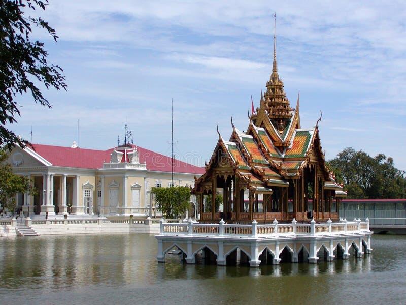 De Thaise Tempel van het Water royalty-vrije stock foto's