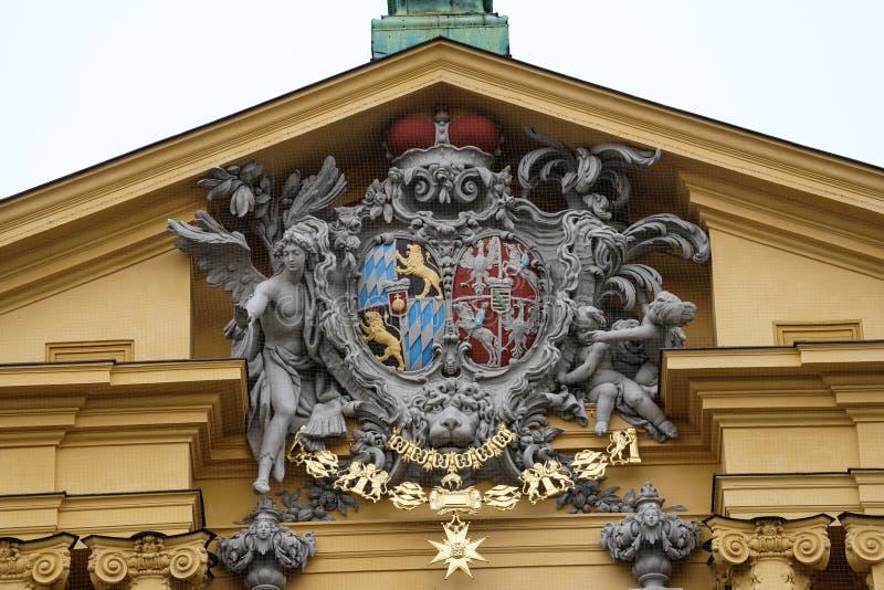 De Theatine-Kerk van St Cajetan in M?nchen, Duitsland royalty-vrije stock foto's