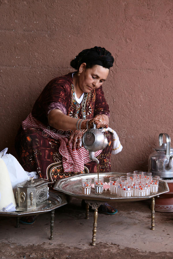 De Thee van Berber royalty-vrije stock foto's