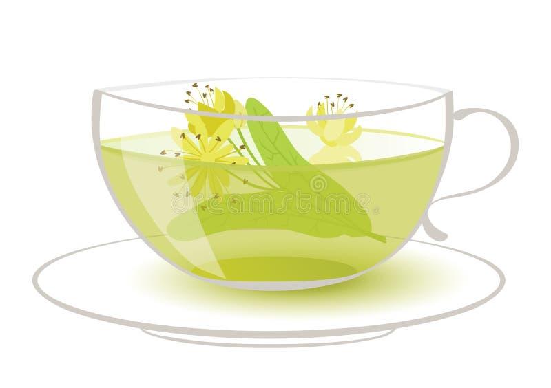 De thee van de linde vector illustratie