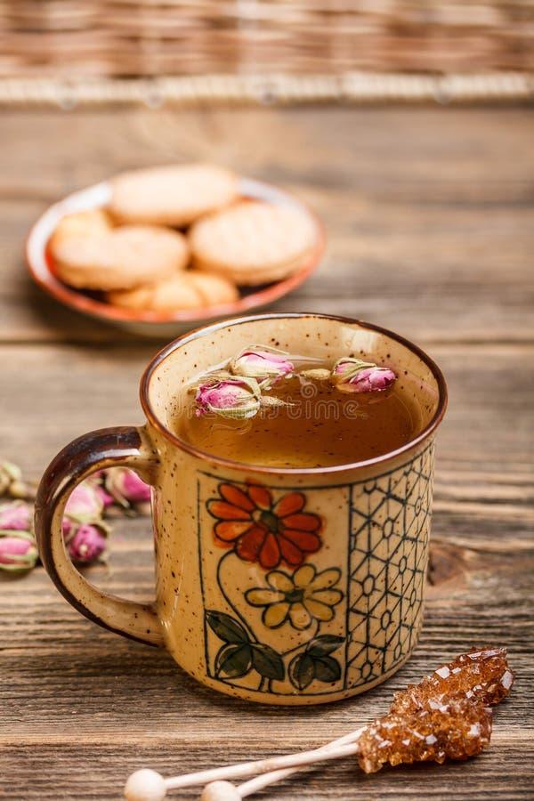 Download De thee van de ochtend stock afbeelding. Afbeelding bestaande uit rustic - 29506943