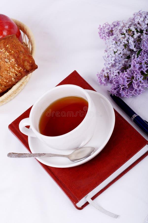 De thee van de stijl stock fotografie