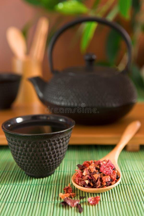 De thee van het fruit royalty-vrije stock fotografie