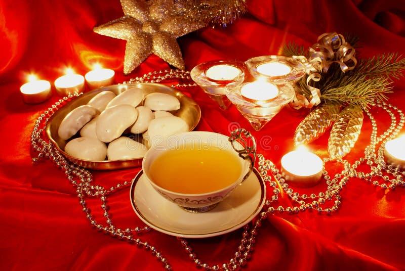 De thee van Kerstmis royalty-vrije stock foto