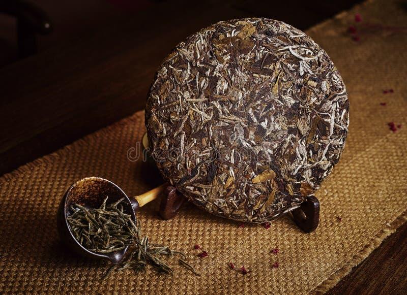 De thee van Xinyangmaojian in China stock afbeeldingen
