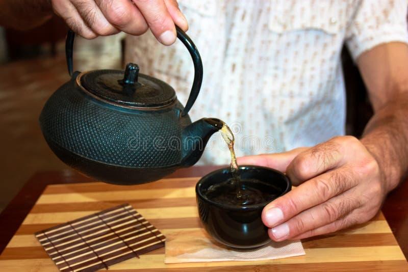 De theeceremonie van China stock foto's