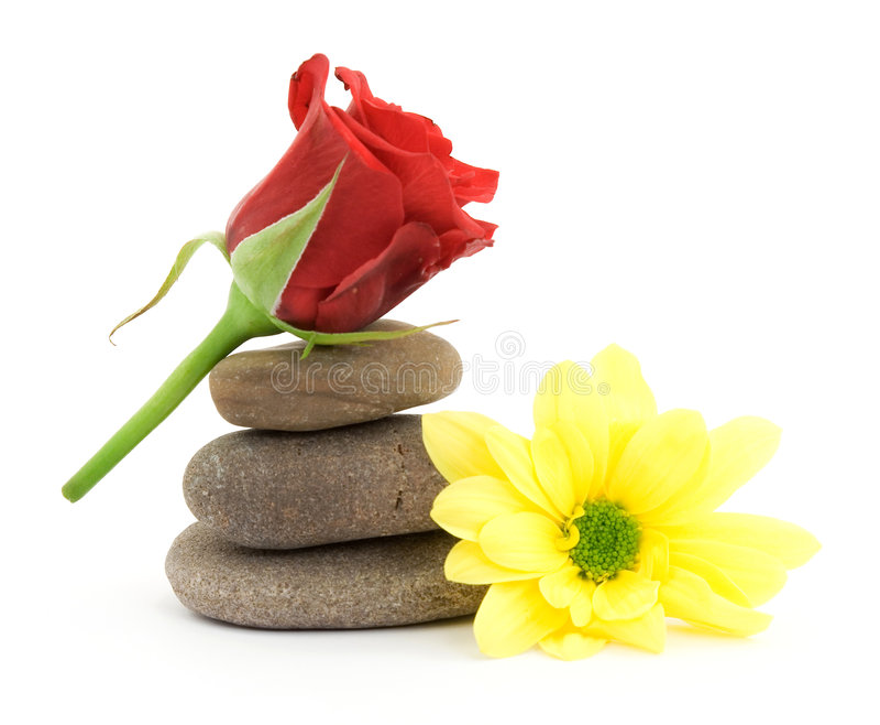De therapiestenen van Zen royalty-vrije stock afbeelding