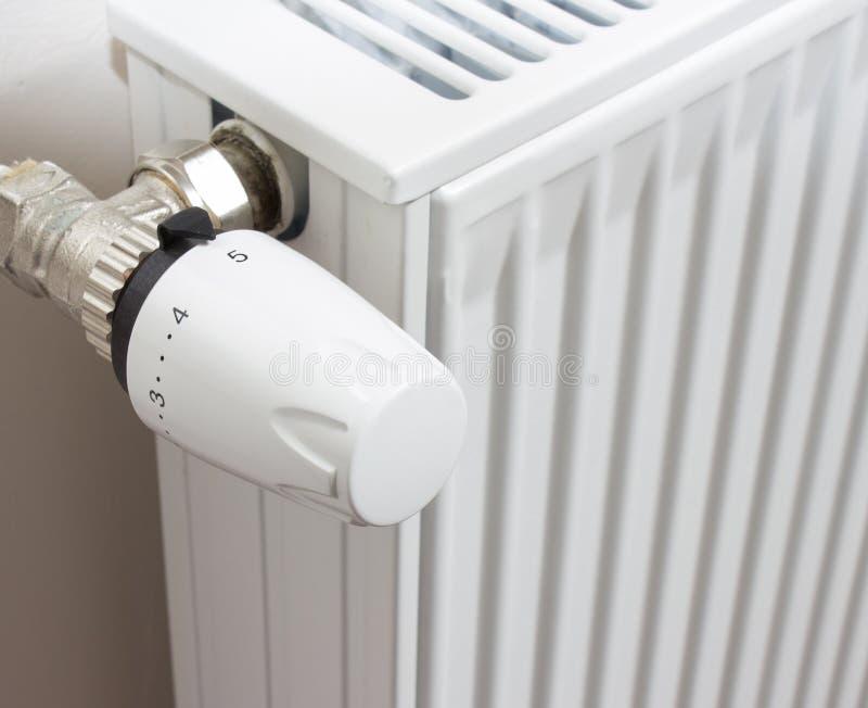 De thermostaat van de radiator royalty-vrije stock foto