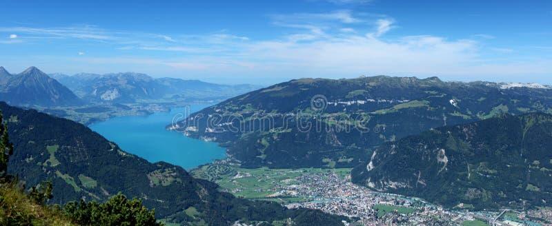 De Thunersee in Switzerland royalty free stock photos