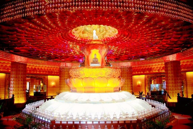 De Tianningstempel wordt gevestigd in Changzhou-stad royalty-vrije stock foto's
