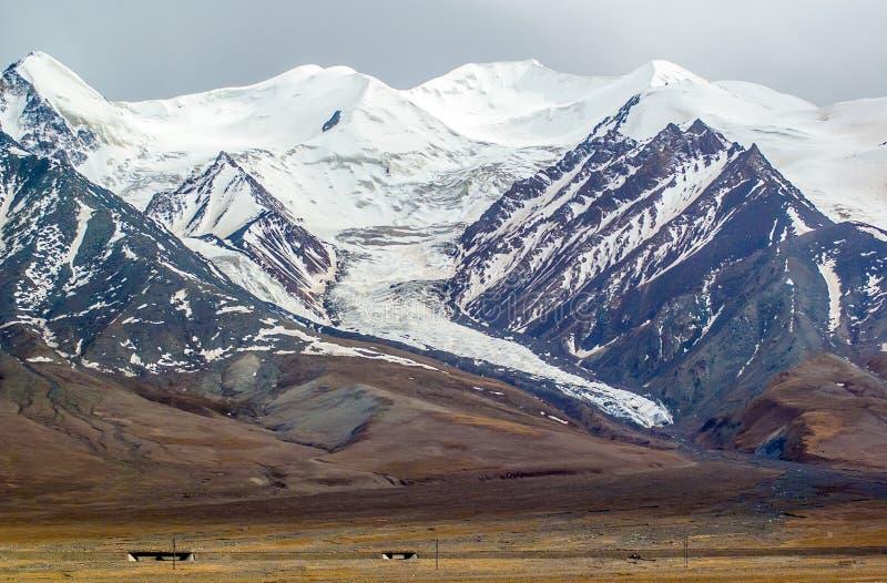 De Tibetaanse Piek van plateau scène-Yuzhu royalty-vrije stock foto's