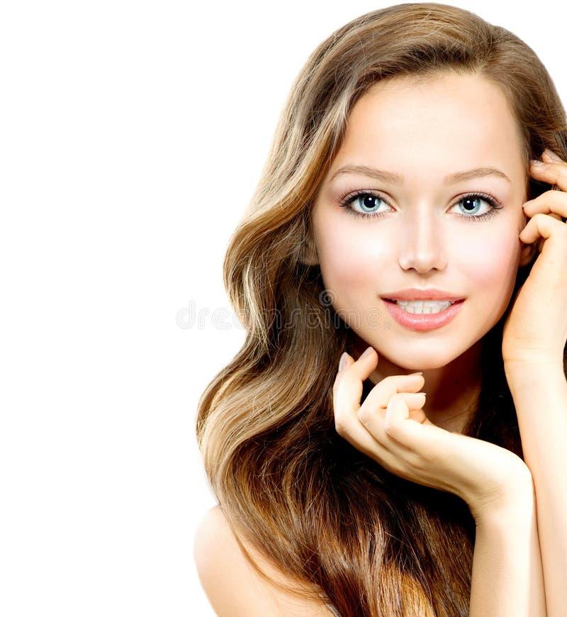 De Tiener van de schoonheid royalty-vrije stock afbeeldingen