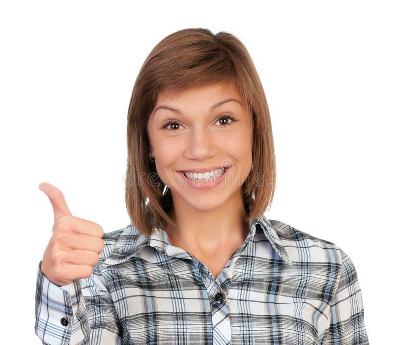 De tiener van het portret stock fotografie