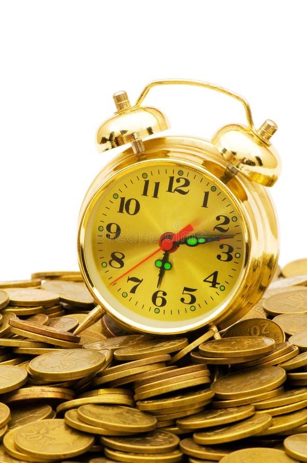 De tijd is geldconcept stock fotografie