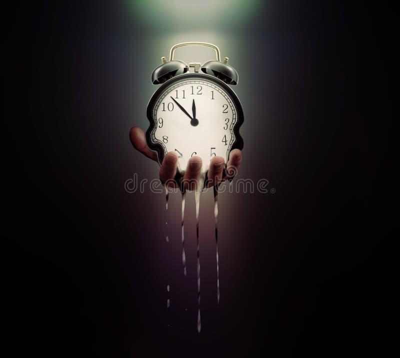 De tijd loopt uit stock afbeeldingen