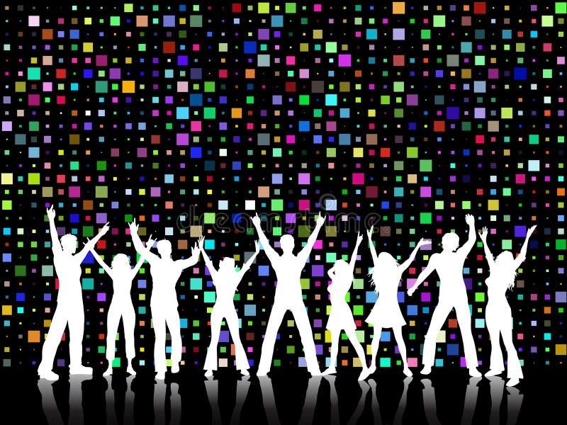 De tijd van de disco royalty-vrije illustratie