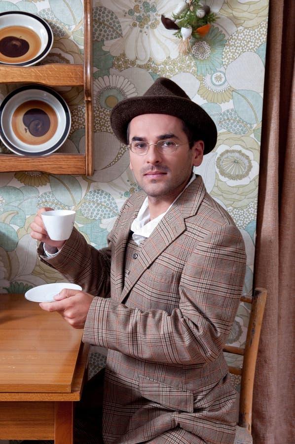 De tijd van de koffie stock fotografie