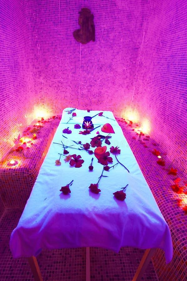 De Tijd Van De Massage Royalty-vrije Stock Afbeeldingen