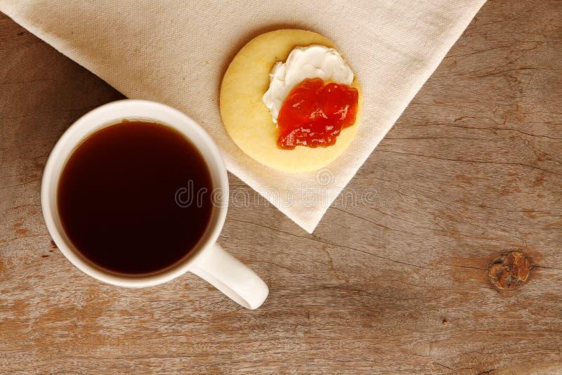 De tijd van de thee! stock foto