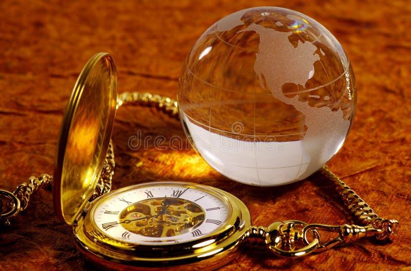 De Tijd Van De Wereld Stock Foto