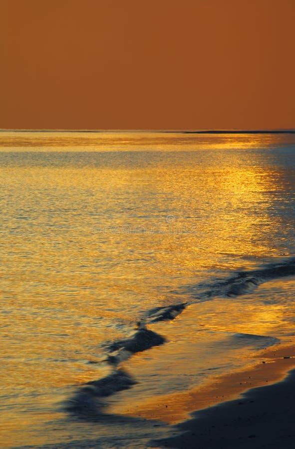 De Tijd van de zonsondergang stock afbeeldingen