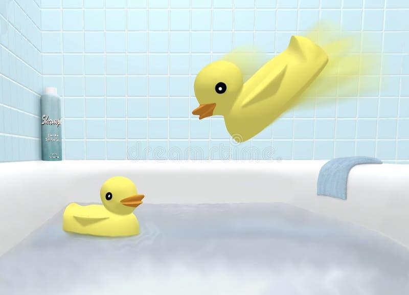 De Tijd van Ducky   vector illustratie