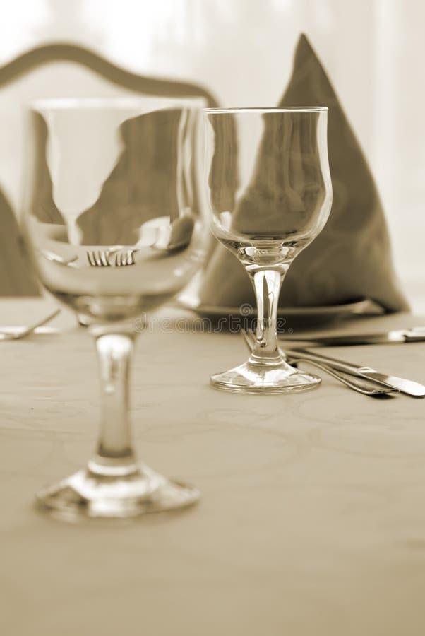 De tijd van het diner royalty-vrije stock foto