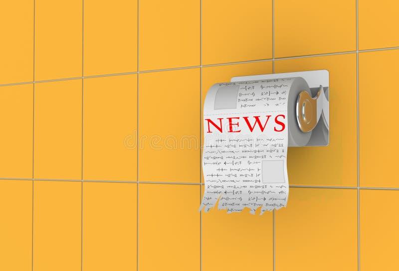 De tijd van het nieuws! vector illustratie