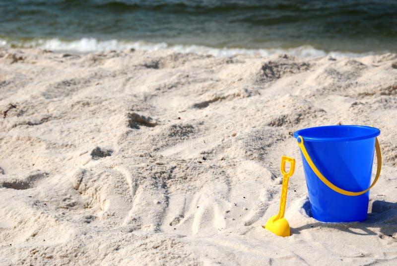 De Tijd van het strand stock foto