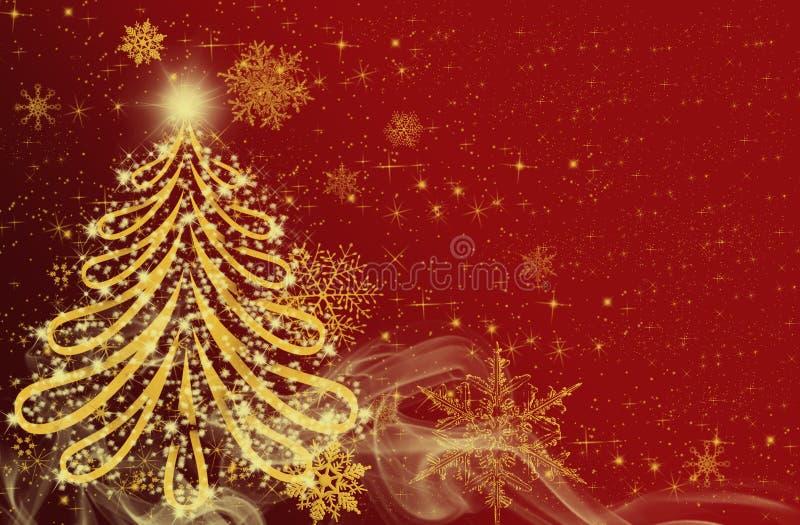 De tijd van Kerstmis stock illustratie