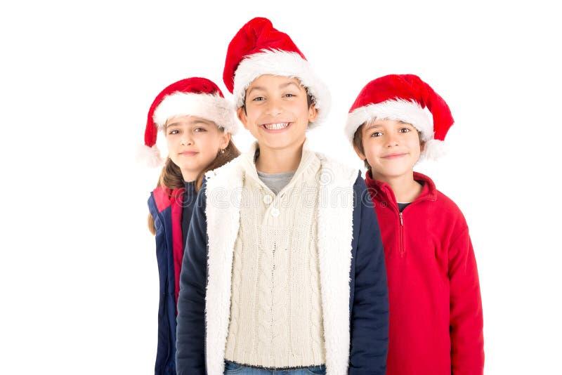 De tijd van Kerstmis is hier royalty-vrije stock foto's