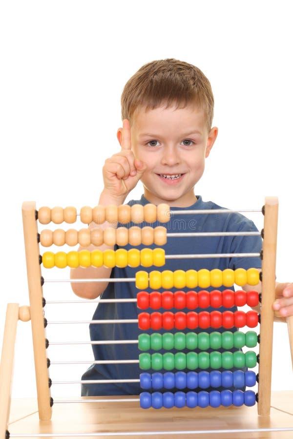 De tijd van Math stock fotografie