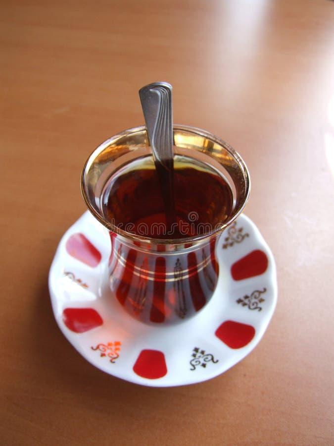 De tijdTurks van de thee royalty-vrije stock fotografie