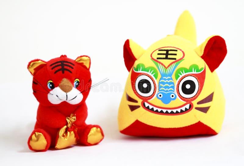 De tijgers van Doll royalty-vrije stock foto