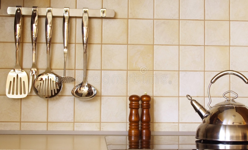 De toebehoren van de keuken royalty-vrije stock fotografie